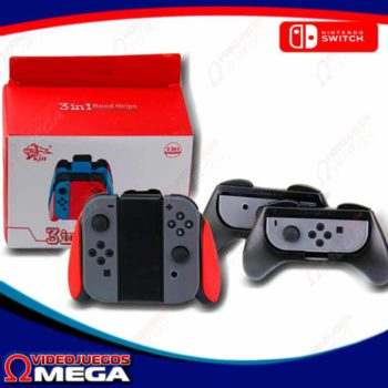 Grip Nintendo Switch 3 en 1