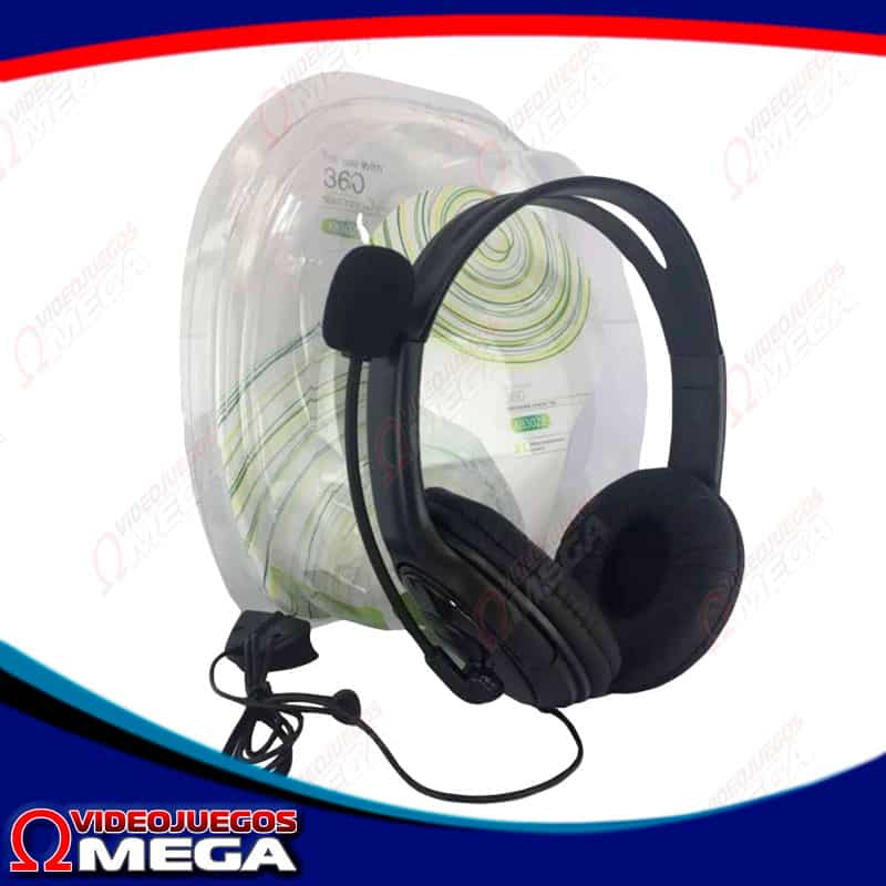 Headsets Stereo Xbox 360