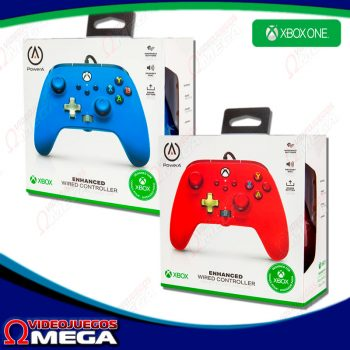 Control Xbox One Powera Enhanced Wired